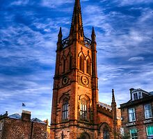 The Old and St Andrew's Church, Montrose (Auld Kirk) by seanclifton