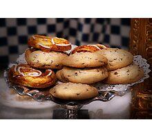 Sweet - Cookies - Cookies and Danish Photographic Print