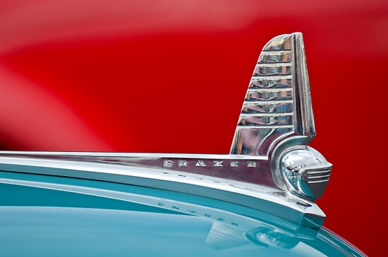 1947 Kaiser-Frazer Hood Ornament by Jill Reger