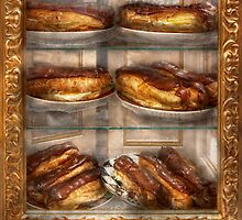 Sweet - Eclair - Chocolate Eclairs by Mike  Savad