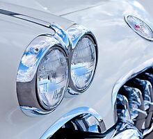 1959 Chevrolet Corvette Headlight by Jill Reger