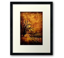 Iron Horse - Fire Framed Print