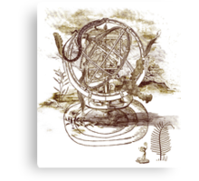strange artefact Canvas Print