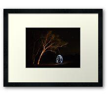 Aussie Drop Bear Framed Print