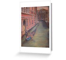 Gondolas in Venice Greeting Card