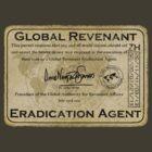 Global Revenant Eradication Agent - ID badge by David Naughton-Shires