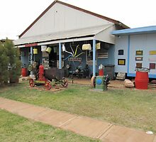 Colourful Museum at 'Dajarra' tiny country town,Outback Que. by Rita Blom