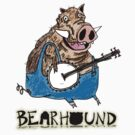 Hog Playing Banjo by Bearhound