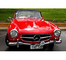 WOW !!! Mercedes Benz 190 SL 1958 model  Photographic Print