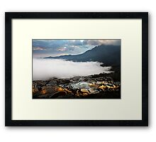 Reflections of Dawn 2 Framed Print