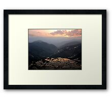 The Tigers Mouth 2 Framed Print