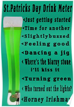 ☁ ST. PATRICKS DAY DRINK METER ☁  by ╰⊰✿ℒᵒᶹᵉ Bonita✿⊱╮ Lalonde✿⊱╮