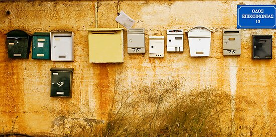 Mailboxes by Clockworkmary