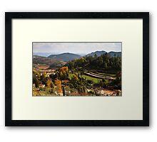 Atumn Farmland 2 Framed Print