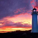 Sunset at Port Fairy Lighthouse by Adam Gormley
