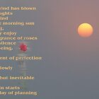 Orange Sun by Titia Geertman