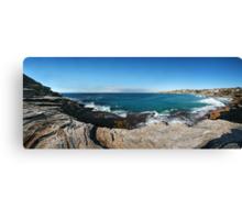 On the Rocks, Tamarama Bay Canvas Print