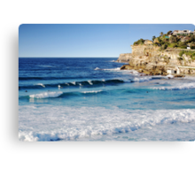 The Morning Surf 2 Canvas Print