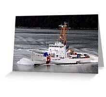 Protecting The Country Greeting Card