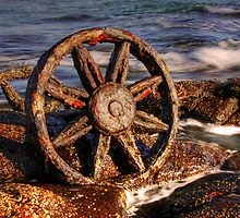 Old relics swept ashore by Christina Brunton