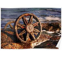 Old relics swept ashore Poster