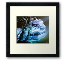 A Light Touch Framed Print