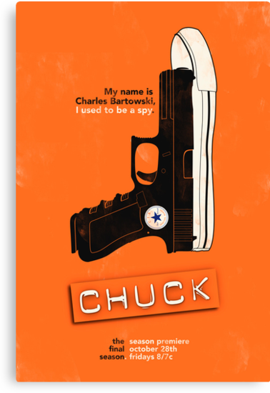 Chuck by iwilding