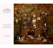 10 2012 A Wizard's Best Friend Photographic Print