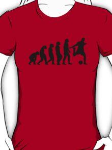 Football Evolution (white) T-Shirt