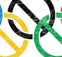 Portland Nolympics Sticker