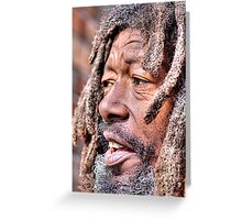 print size Mr. Butch Greeting Card