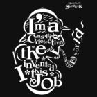 Sherlock Typography (Dark Colors Ver.02)  by soulthrow