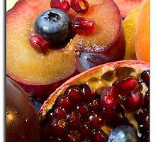 Fruit studio shot portrait by MrsRatbag