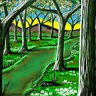 &quot;Springtime Path&quot; by Steve Farr