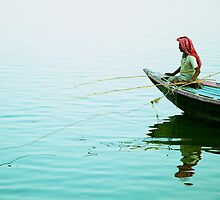 Fishing on the Ganges by Valerie Rosen