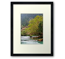 Duo Yi River 2 Framed Print