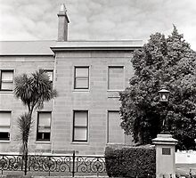 The Old Treasury Building—Hobart, Tasmania by Brett Rogers