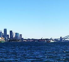 Sydney Harbour 2 by barnabychambers