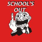 School's Out t-shirt by parko