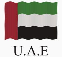 United Arab Emirates Flag by stuwdamdorp