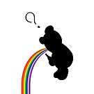 TEDDY RAINBOW VOMIT by Jesse Metcalfe