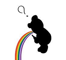 TEDDY RAINBOW VOMIT by Jesse Metcalfe