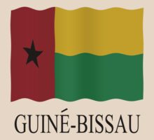 Guinea Bissau flag by stuwdamdorp