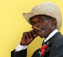 Havana cigar man. by Phil Bower