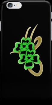 Irish iPhone case by patjila