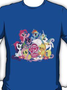 My Little Pony Mane6 and Logo T-Shirt