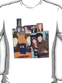 Doctor who collage  T-Shirt