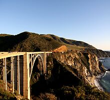 Bixby Bridge - Near Big Sur California by lensharp