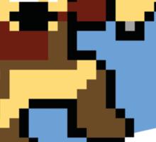 (MegaMan Firefly) Mega Mal Reynolds Shirt 8-bit Sticker