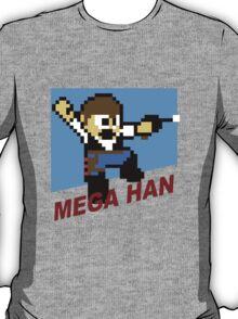 (MegaMan Shirt) Mega Han Shirt 8-bit T-Shirt
